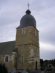 The church in Donnay
