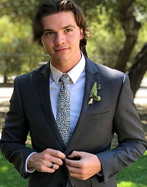 Joel Courtney, Wedding Photo, 18Aug2018.jpg