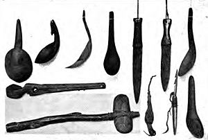 Native Americans in Oregon tools