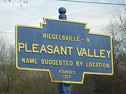 Official logo of Pleasant Valley, Pennsylvania