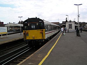 9104 at Clapham Junction