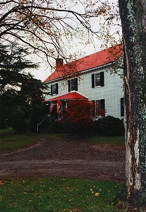 Black Walnut Plantation Manor House