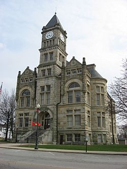 The Union County Courthouse in Liberty is listed on the National Register of Historic Places