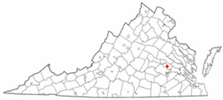 Location of Montrose, Virginia