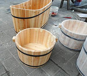 Wooden bathtubs for children and infants - 06