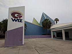 Front of GWIZ Building