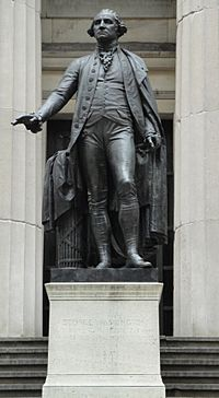 George Washington Statue at Federal Hall