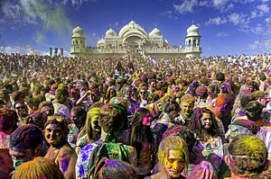 Holi Festival of Colors Utah, United States 2013