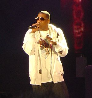 Jay-Z concert (cropped)