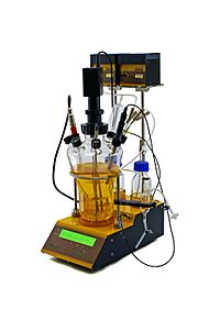 Autoclavable bench-top laboratory bioreactor & fermenter, Lambda MINIFOR