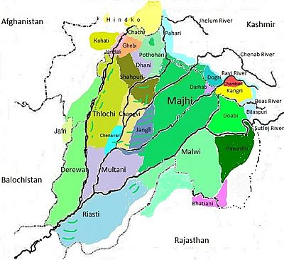 Dialects Of Punjabi