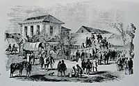 First public auction of Natal sugar, Durban, 1855