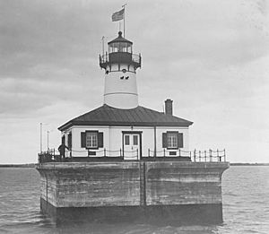 Fourteen Foot Shoal Light Michigan