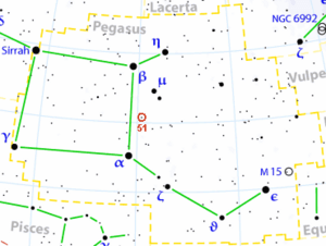 Pegasus 51 location