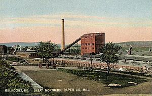 Great Northern Paper Company Mill, Millinocket, ME