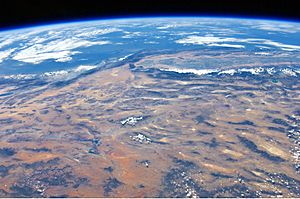 ISS View of the Southwestern USA