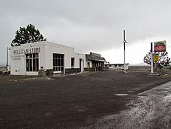 Millican store and gas station