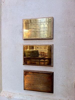 Monuments to organists of St Edmundsbury Cathedral (2)