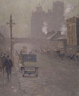Oxford Road, Manchester 1910, Valette