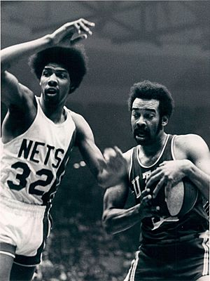 Willie Wise and Julius Erving