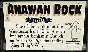 Anawan Rock Sign