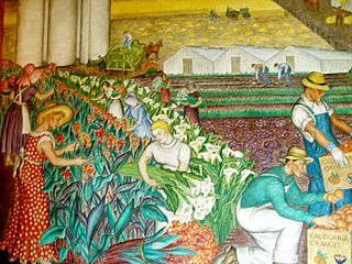Coit Mural Agriculture