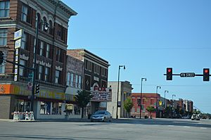 Downtown Pittsburg, Kansas 9-2-2012