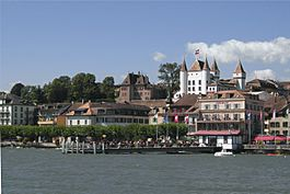 Nyon in late August 2007