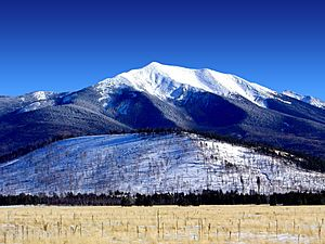 San Francisco Peaks, winter