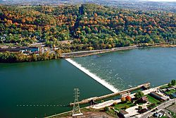 Allegheny River Lock and Dam No. 4