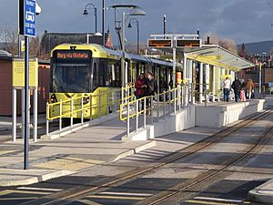 Ashton Metrolink station 2