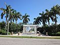 Boca Raton M L King memorial across street