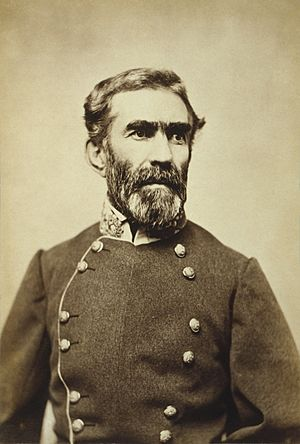 Gen. Braxton Bragg, half-length portrait, facing right