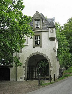 Gatehouse to Meggernie Castle - geograph.org.uk - 20396