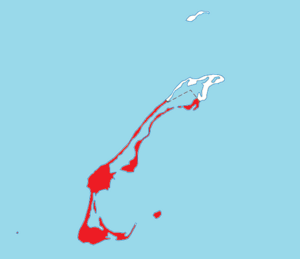 Location within Les Îles-de-la-Madeleine TE.