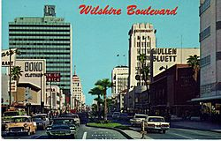 Miracle Mile 1960s Postcard