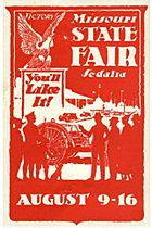 USA-Poster-stamp c1930 Missouri State Fair