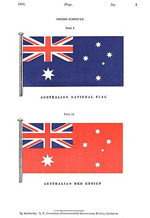 Flag of Australia Facts for Kids