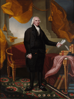 George Clinton, governor of New York (portrait by Ezra Ames)