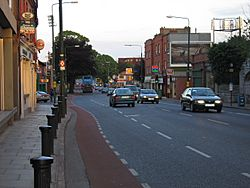 Donnybrook main street looking towards Stillorgan