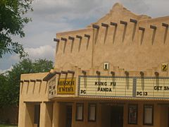 Mission Twins Theater in downtown Dalhart IMG 0564