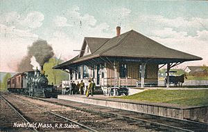 Northfield, Mass. R. R. Station