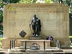 Tomb of the Unknown Revolutionary War Soldier-27527