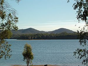 Mount Petrie from Capalaba