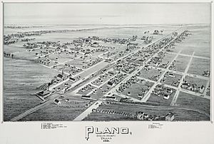 Old map-Plano-1891