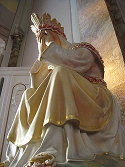 Our Lady of La Salette (crying)