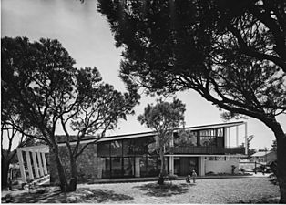 Schmidt-lademann-house south day 1959