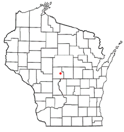 Location of Sigel, Wood County, Wisconsin
