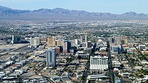 City of Las Vegas skyline