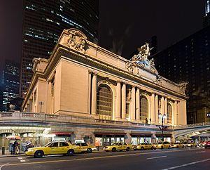 Image-Grand central Station Outside Night 2